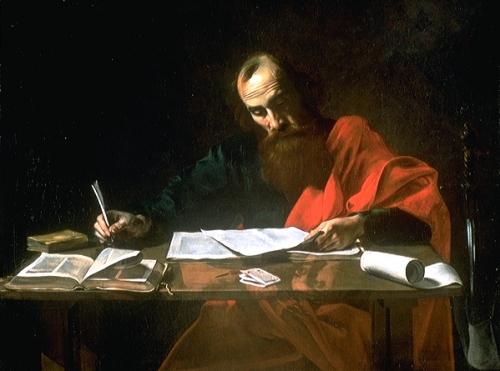 paul-writing