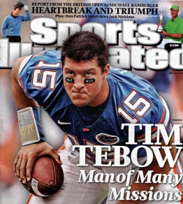 tim-tebow-appears-on-the-july-27-2009-cover-of-sports-illustrated-magazine-his-eye-black-references-philippians-413-which-reads-i-can-do-all-this-through-him-who-gives-me-strength