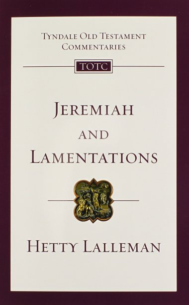 Jeremiah Lamentations Hetty Lalleman book review